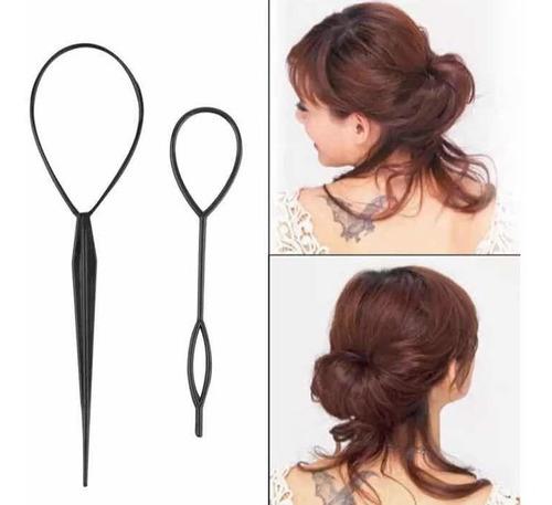 acessório agulha mágica para penteados de cabelo