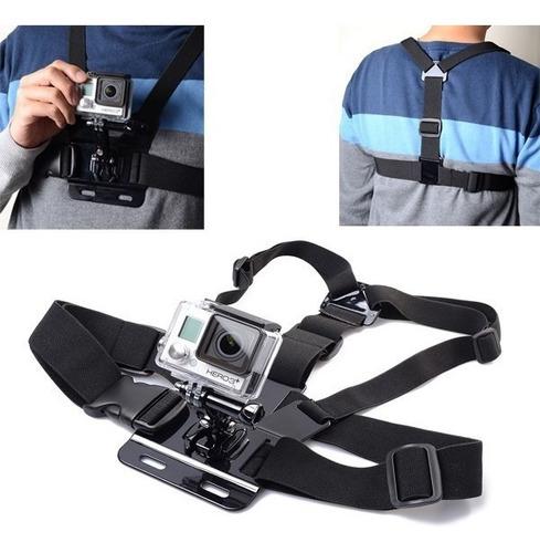 acessorio gopro suporte peito cinta go pro sjcam xiaomi