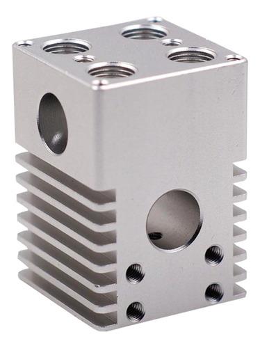 acessório impressora 3d 1pcs liga alumínio cruz slide bloc