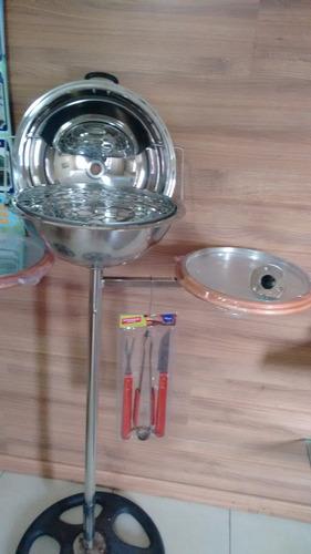 acessório lancha tecnoboats promoção churrasqueira + brinde