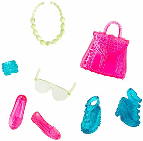 7adffc6c4 Kit Acessorios Barbie Mattel - Brinquedos e Hobbies no Mercado Livre Brasil