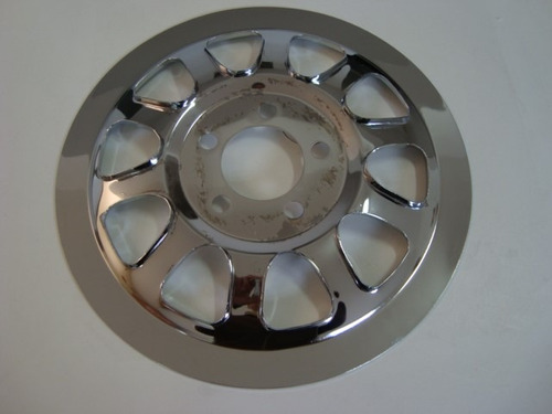 acessório p/ harley - capa da coroa  polia da correa - dyna