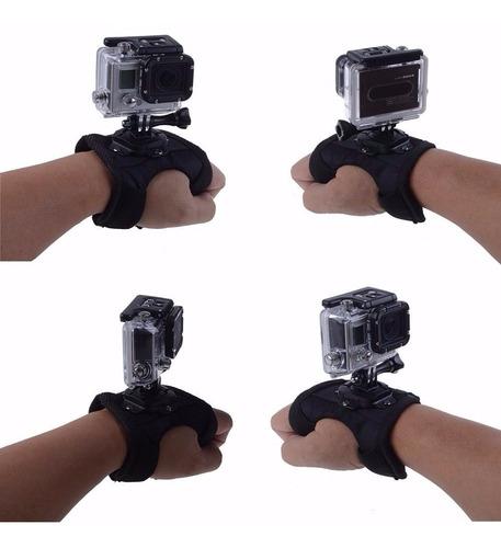 acessorio para gopro hero luva com rotação em 360º