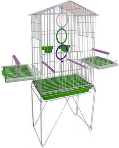 acessório pássaro manso gaiola calopsita 2 pote ração frete
