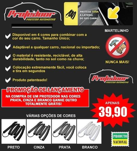 acessório proteção lateral carro