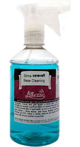 acessório slime base limpeza reverse cleaning 500g reval