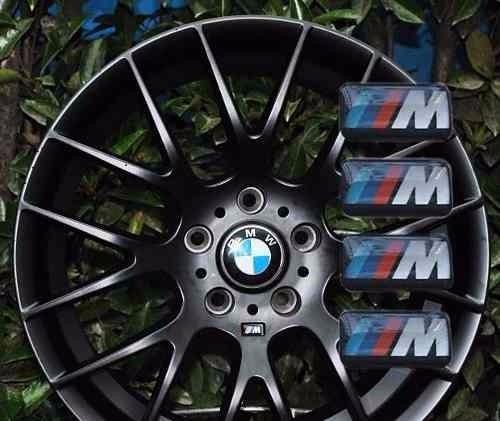 acessórios 4 emblemas bmw m roda 118i 120i 320i x1 328i x3