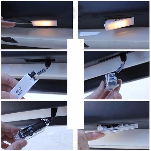 acessórios audi  a1 a3 s3 q3 a4 tt luz led cortesia projetor