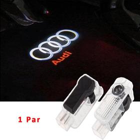 Acessórios Audi A3 S3 Q3 A4 A5 Tt Luz Leds Cortesia Projetor