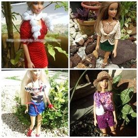 56c587f14072 Barbie Croche Bonecas E Acessorios Roupas - Brinquedos e Hobbies no ...