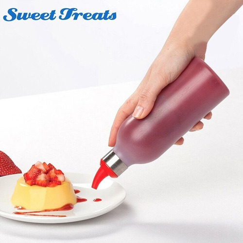 acessórios de cozinha plástico squeeze bottle condimento g