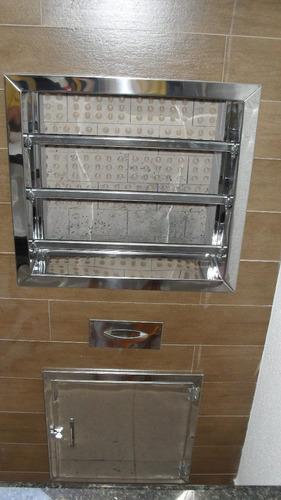 acessorios de inox para churrasqueira sob medida ...........
