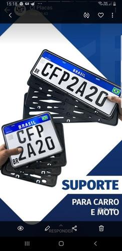 acessórios de placas automotivas.