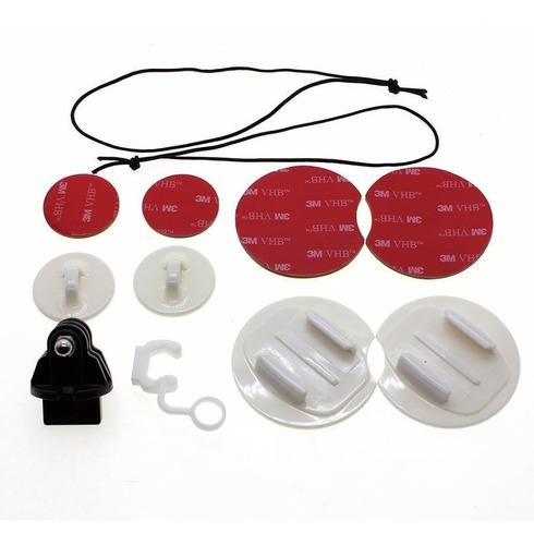 acessórios gopro hero surf kit p/ pranchas+boia adesivo 3m