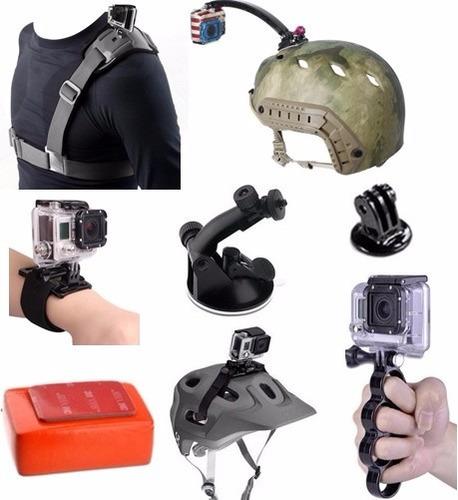 acessorios gopro suporte capacete e outros pta entrega