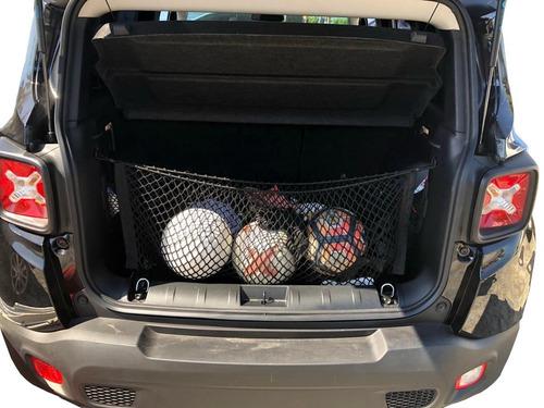 acessórios jeep compass combo com duas redes porta objetos
