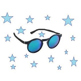 86d61a9e02ca Óculos De Sol Espelhado Protetor Uva-uvb Oshkosh 4-6 Anos