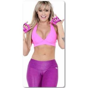5403640ec Roupa Fitness Juju Salimeni - Acessórios da Moda no Mercado Livre Brasil