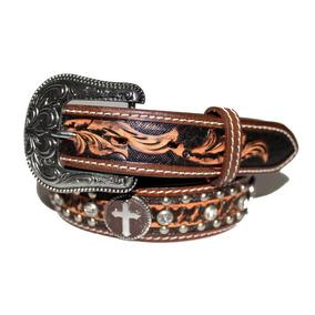 f05862ef9506c Cinto Infantil Marrom 6013 Arizona Belts