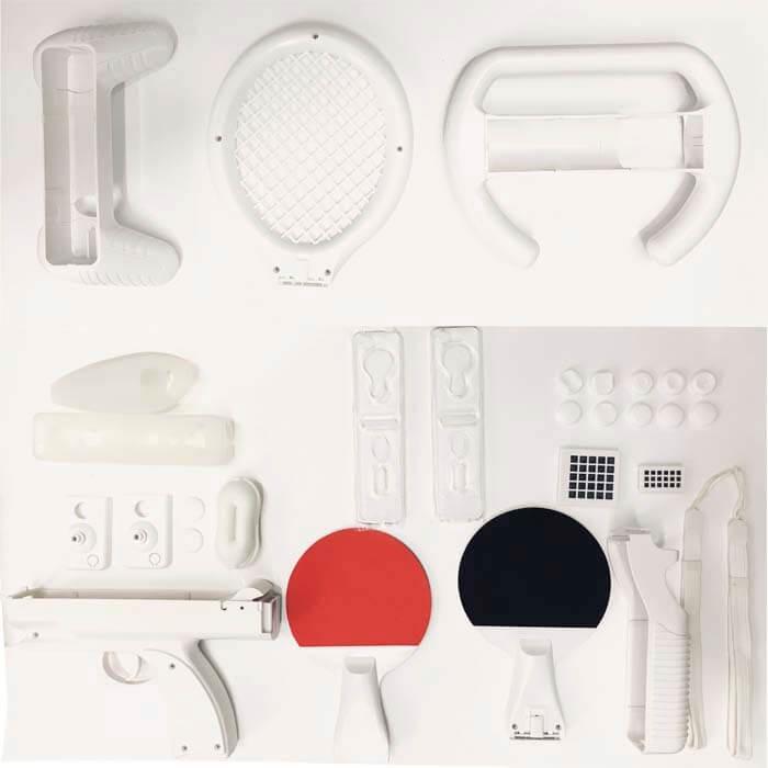 cc0e5ac21 Kit Acessórios De Esporte Pacote 60 Em 1 Para Nintendo Wii - R  55 ...