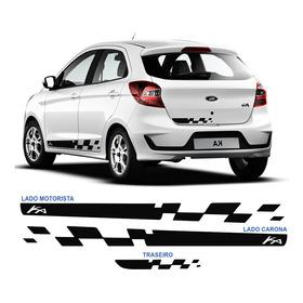 Acessórios Novo Ford Ka 2014 A 2018 Adesivo Lateral Sport