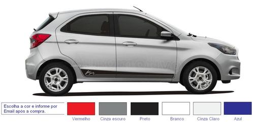 acessórios novo ford ka hatch ka + sedan kit adesivos