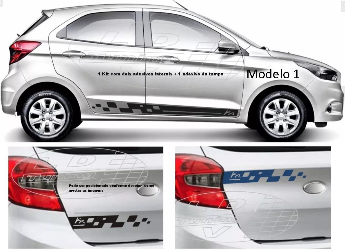 Acessorios Novo Ford Ka Hatch Ka Sedan Kit Adesivos R 58 00 Em Mercado Livre