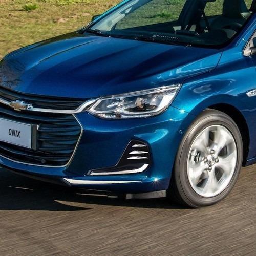 acessórios onix 2020 hatch sedan adesivo dianteiro do farol