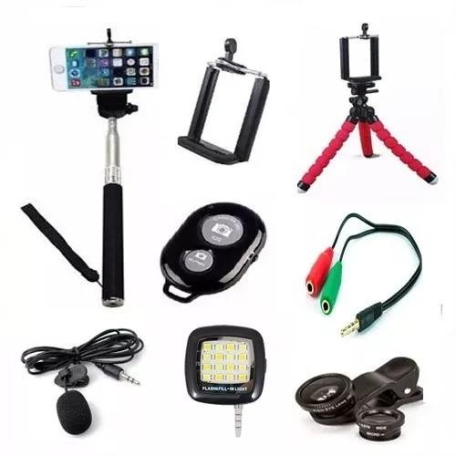 acessorios para youtuber flash led celulares