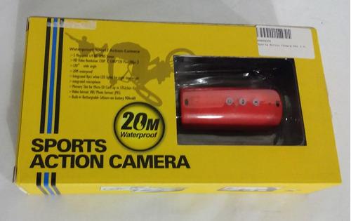 acessórios sports action câmera 20m à prova d'água rd32
