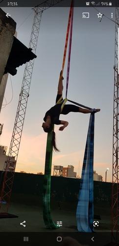 acetato deportivo tela estampada colores circo