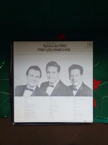acetato lp trio los panchos album epoca de oro