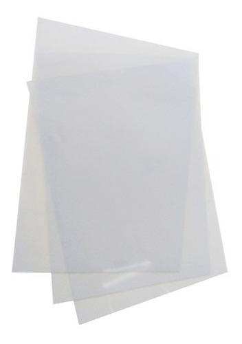 acetato pvc transparentes en laminas a4 traslúcido 0,3mm x17
