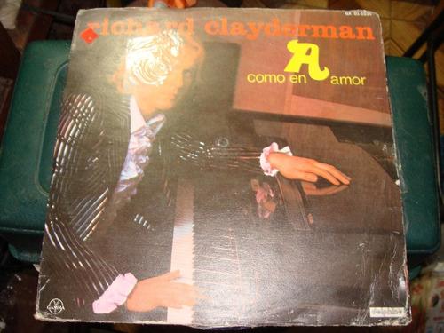 acetato richard clayderman, como en amor