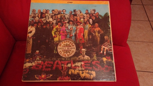 acetato the beatles sgt. peppers lp12  stereo americano