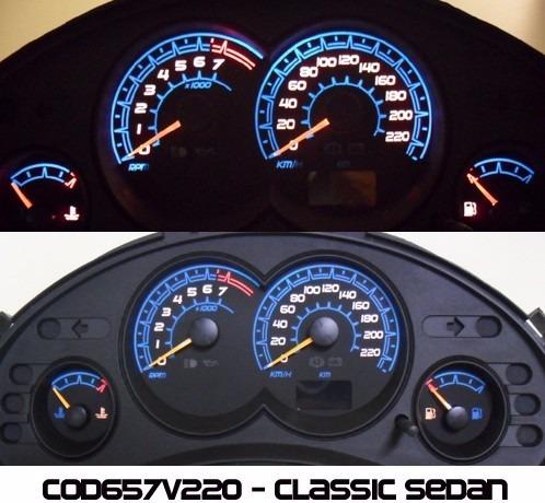 acetato translucido painel corsa classic sedan ed cod657v220