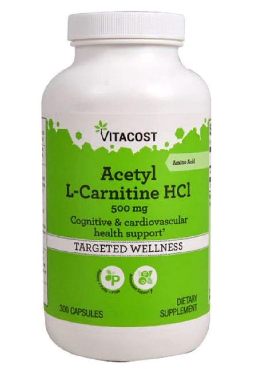 acetil l carnitina 300 cápsulas 500mg - importada pronta ent. Carregando  zoom. f887e6f46ed8