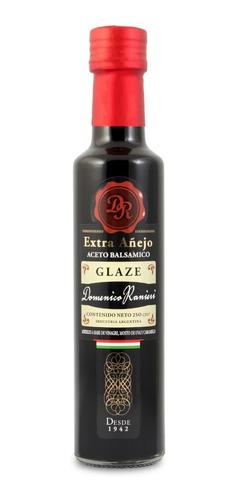 aceto balsámico glazé domenico ranieri botella 250 ml x 3 u