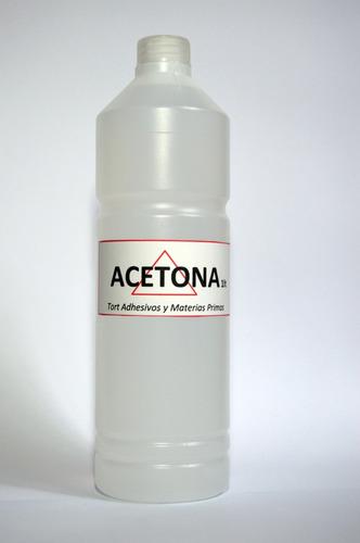 acetona - 1 litro - pura, quita esmaltes, impresion 3d
