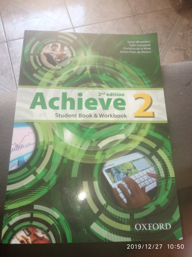 achieve 2 students and workbook - oxford