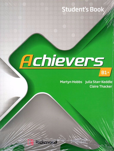 achievers b1+ - student´s book - richmond