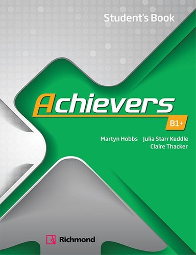 achievers - students book level b1+ - richmond - rincon 9