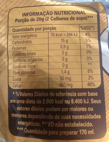 achocolatado em pó alpino nestlé 1kg