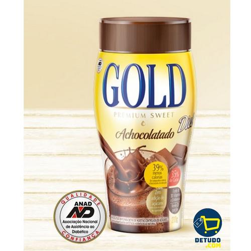 achocolatado gold diet vitaminado premium sweet  3 unidades