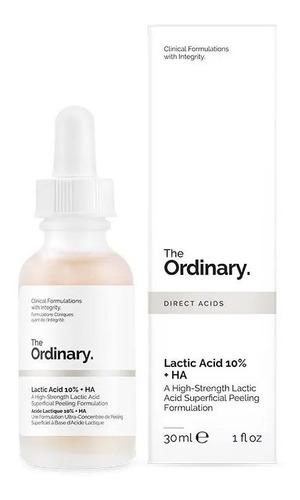 acid lactic 10% + ha peeling the ordinary - 30ml - original