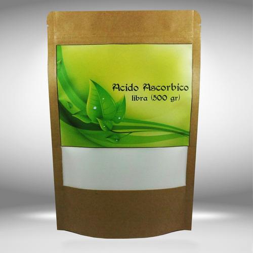acido ascorbico vitamina c polvo 1 kilo 100% puro