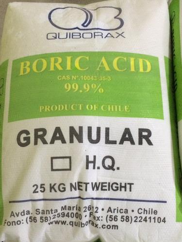 acido bórico fertilizante  importado do chile 1 kg