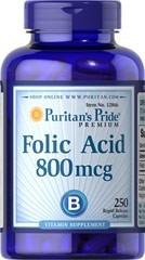 acido folico 250 capsulas de 800mcg envio gratis