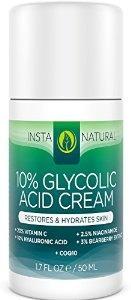 ácido glicólico crema 10% - con 20% vitamina c 10% ácido hia