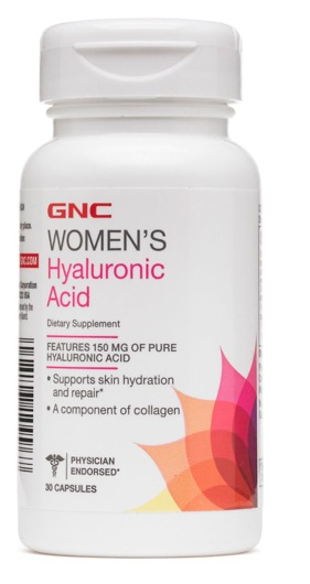 Ácido Hialurônico Gnc 150mg Importado - 30 Cápsulas - R